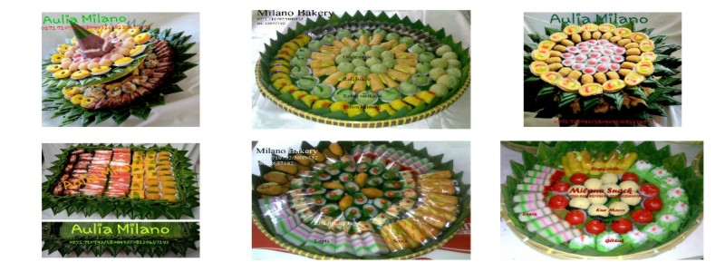 Pemesanan Snack Tradisional | Bakery | Cookies | Katering | Aulia Milano Solo